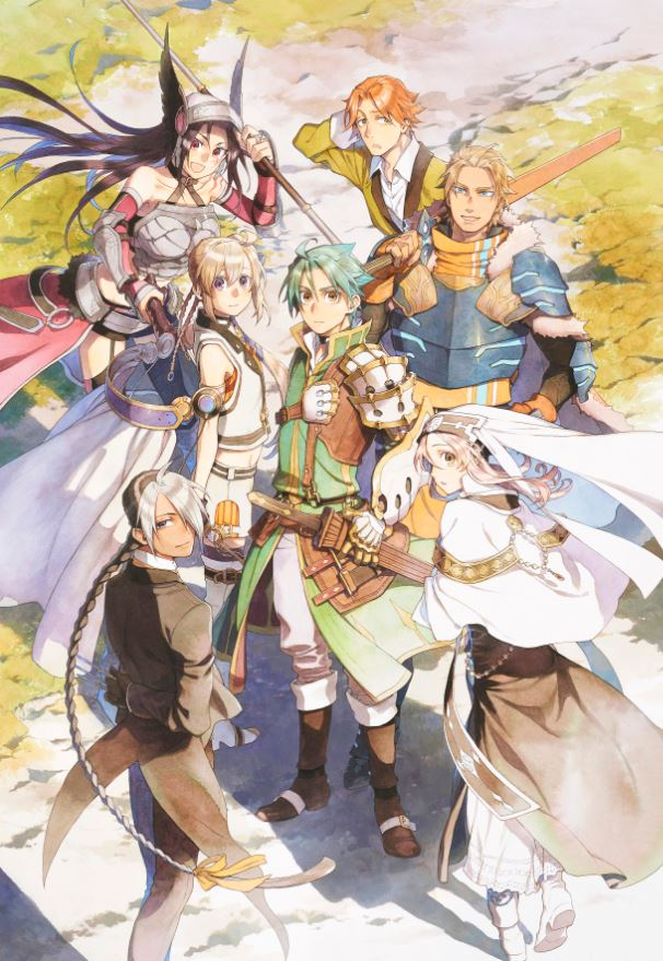 Key visual drawn by illustrator Miyu for the anime adaptation of Grancrest Senki (Record of Grancrest War)
