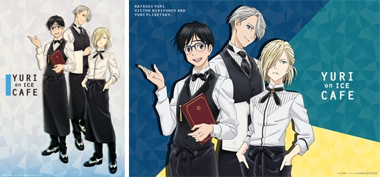 'Yuri on Ice' Collaboration Café in Omotesando | Anime Luncheon Mat