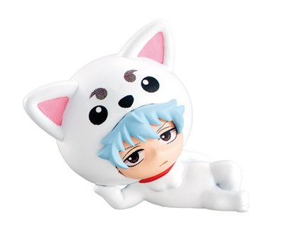 Gintoki Sakata from Gintama as a Cute Dog