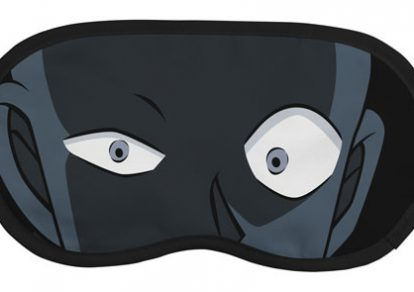 Goods maker Cospa released an eye mask based on the familiar drawing of a suspect from Detective Conan by Gosho Aoyama.