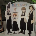 The Eccentric Family anime collaboration café at Marunouchi Leading Style Café at Tokyo Ekimae