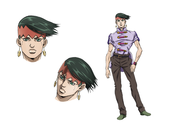Rohan Kishibe | Character from Jojo's Bizzarre Adventure: Diamond is Unbreakable Anime Side Story: Thus Spoke Rohan Kishibe.