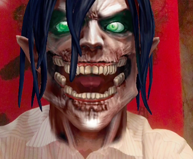 Eren!   Filter from the Attack on Titan x SNOW collaboration
