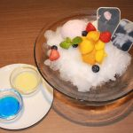 Yuri on Shaved Ice from the Yuri on Ice collaboration anime cafe