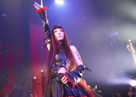 Empress Yui of Yousei Teikoku at the 9th Formal Ceremony Tour 'flamma idola tour'
