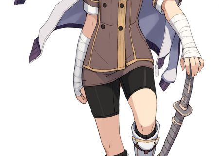 Maki Shido from anime Toji no Miko