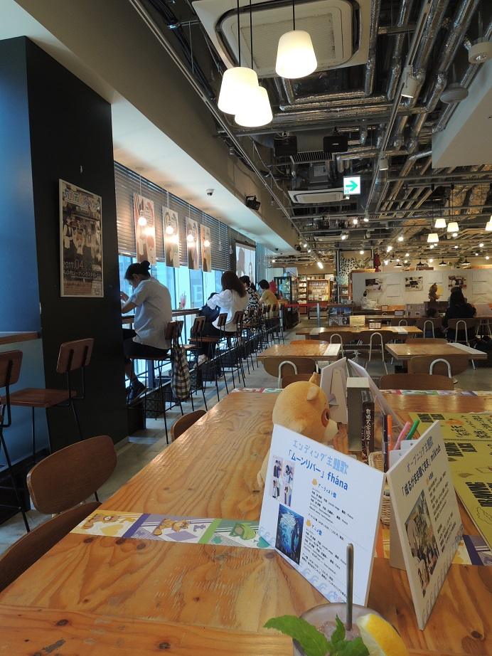 The Eccentric Family Anime Collaboration Cafe At Marunouchi Leading Style Tokyo Ekimae