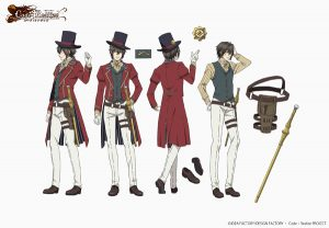 Arsene Lupin from Fall 2017 anime Code: Realize ~Guardian of Rebirth~