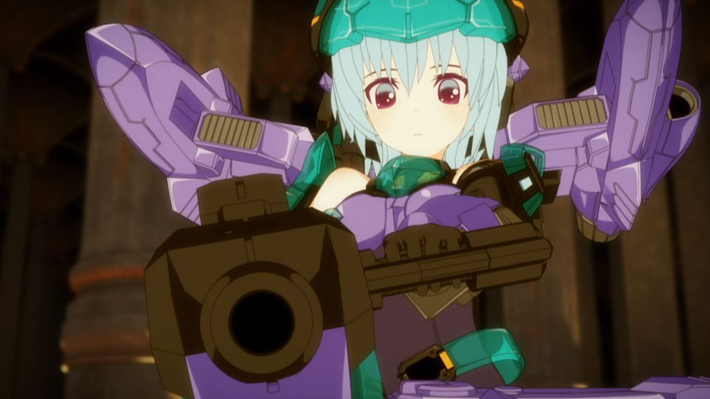 Frame Arms Girl Episode 11 Official Anime Screenshot ©KOTOBUKIYA / FAGirl Project