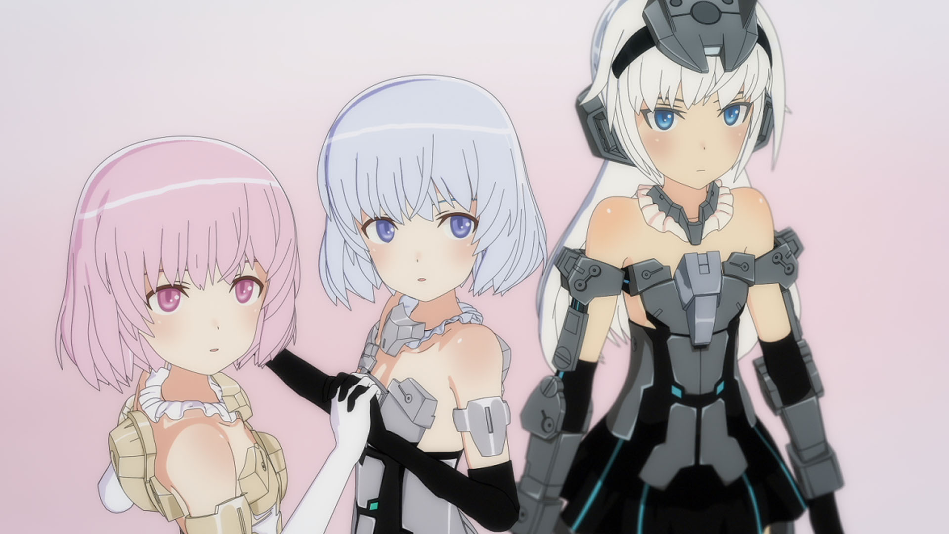 Frame Arms Girls Episode 12 official anime screenshot