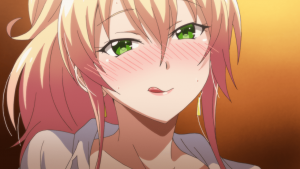 Screenshot from anime Hajimete no Gal