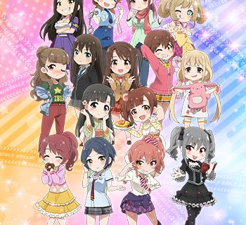 From anime Idolmaster Cinderella Girls Kogekijou Part 2
