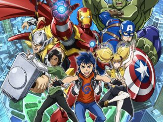 TV Anime Marvel Future Avengers Broadcast Date Announced