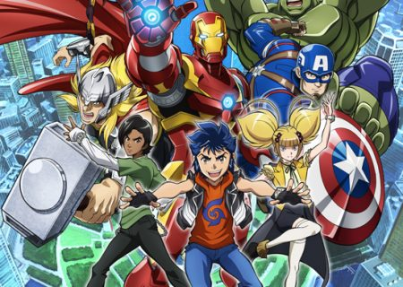 Marvel Future Avengers Key Visual | Anime Based on the Classic Marvel Heroes