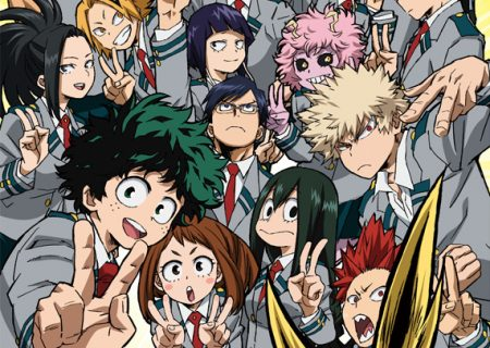 My Hero Academia second season anime visual