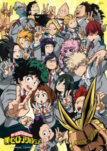Visual for the second anime cour of My Hero Academia