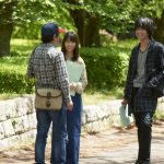 From the set of Love and Lies live action movie