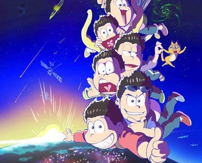 Teaser visual for the second season of anime Osomatsu-san coming in Fall 2017
