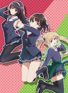 Visual for anime Saekano Flat