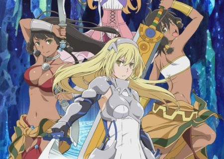 Sword Oratoria anime visual