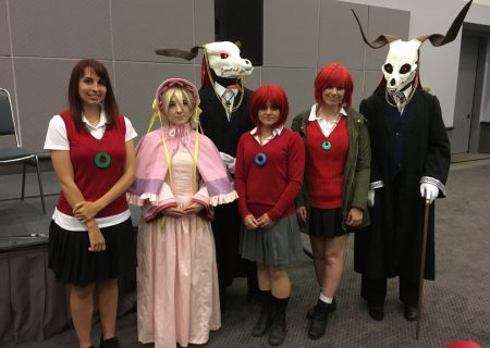 Cosplay of The Ancient Magus' Bride at Anime Expo 2017