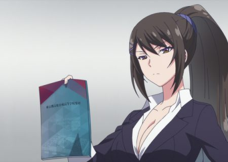 Classroom of the Elite Episode 1 Official Anime Screenshots