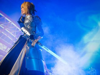 Projection Mapping Brings Fate's Excalibur to the Real World