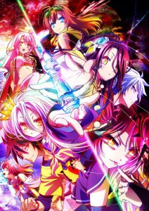 No Game No Life Zero Anime Movie Poster