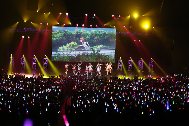 Aqours perform at Japan Kawaii Live of Anisong World Matsuri (Anime Expo 2017)