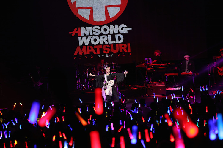GARNiDELiA perform at Japan Super Live of Anisong World Matsuri (Anime Expo 2017)