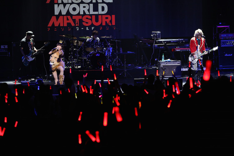 angela perform at Japan Super Live of Anisong World Matsuri (Anime Expo 2017)