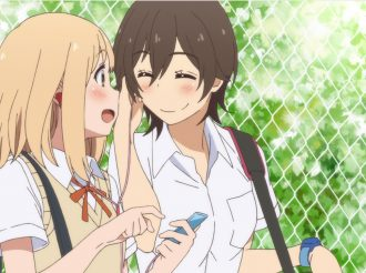 From anime Kimi no hikari based on Kase-san and...