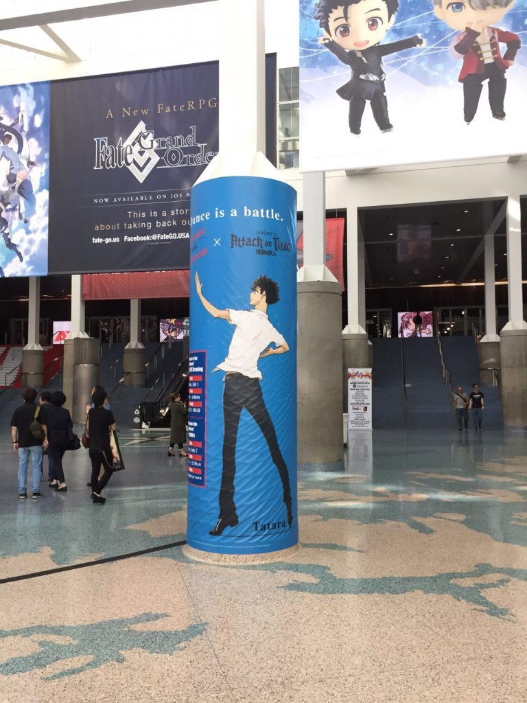 From the world premiere event of ballroom dance anime Welcome to the Ballroom (Ballroom e Youkoso) at Anime Expo 2017.