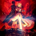 Takashi Takeuchi Illustration for Fate/Zero Blu-ray Disc Box Standard Edition Cover