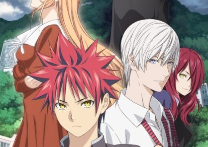 Food Wars! Shokugeki no Soma - San no Sara Anime Visual