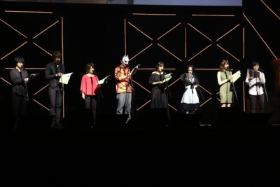 The cast of Persona 5 the Animation -The Day Breakers-