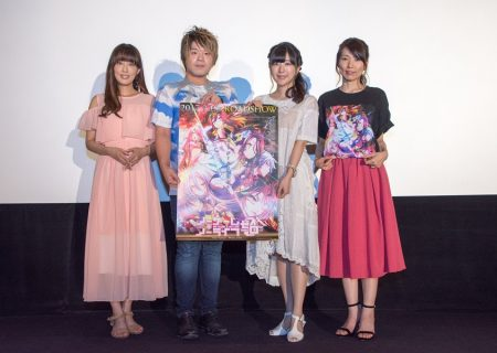 The anime movie No Game No Life Zero Stage Greeting Report