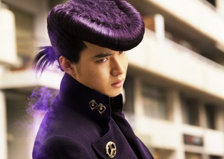 Still from the live action movie JoJo's Bizarre Adventure: Diamond is Unbreakable Part 1