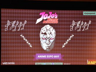 JoJo Fans Gather at the JoJo's Bizarre Adventure Stage at Anime Expo 2017