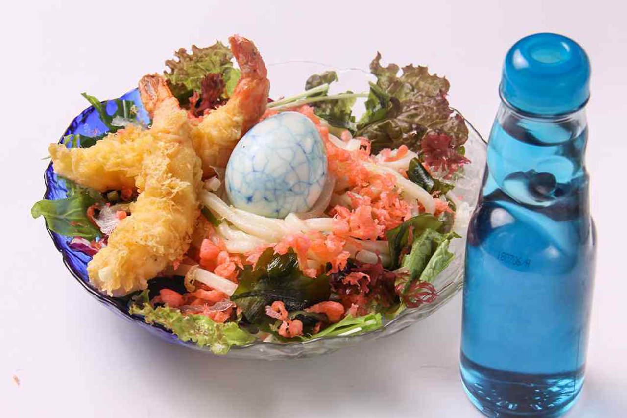 Colourful Cool Udon From the new menu of Kawaii Monster Cafe Harajuku