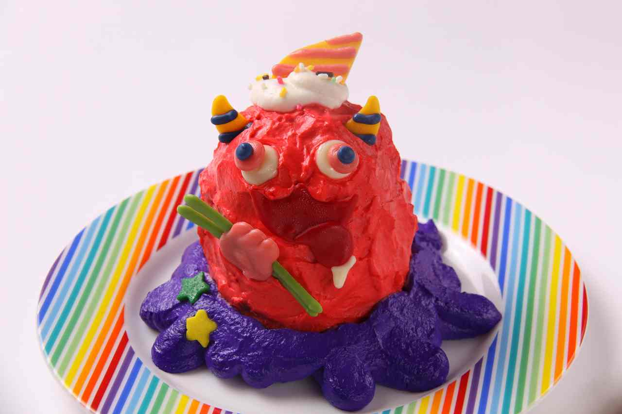 Choppy Cake From the new menu of Kawaii Monster Cafe Harajuku
