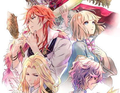 Smartphone game DamexPrince anime adaptation visual