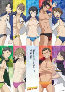 New Dive!! anime visual