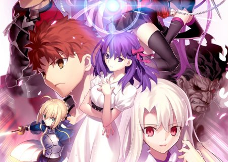Anime Movie Key Visual Fate/stay night [Heaven's Feel] I. Presage Flower