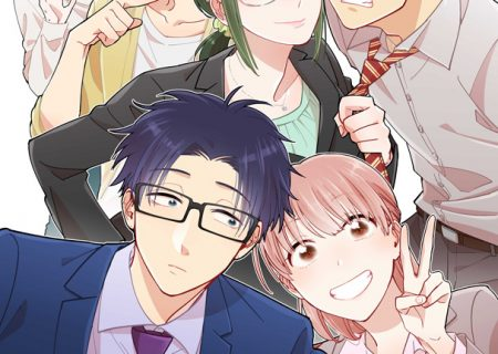 Visual from Otaku ni Koi wa Muzukashii anime adaptation