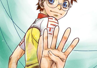 Teaser Visual for Season 4 of anime Yowamushi Pedal
