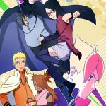 Boruto: Naruto Next Generations New Visual for Sarada Uchiha arc in August 2017.
