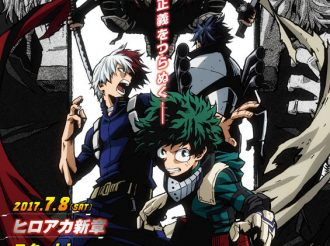 Mysterious New Key Visual for Second Half of My Hero Academia Revealed