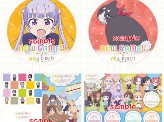 New Game!! collaborates with Eizan Electric Railway