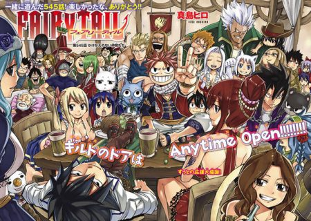 Fairy Tail Celebratory Illustration